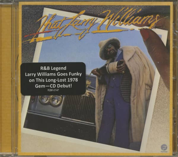 That Larry Williams: The Resurrection Of Funk (CD)