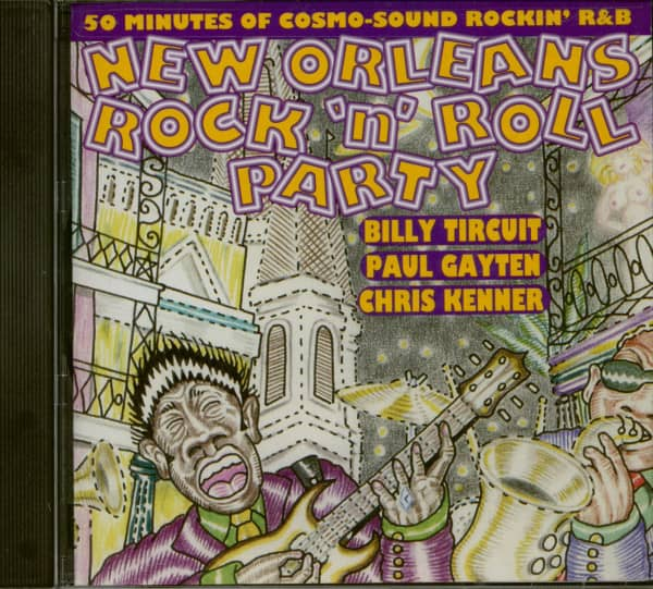 New Orleans Rock 'n' Roll Party (CD)