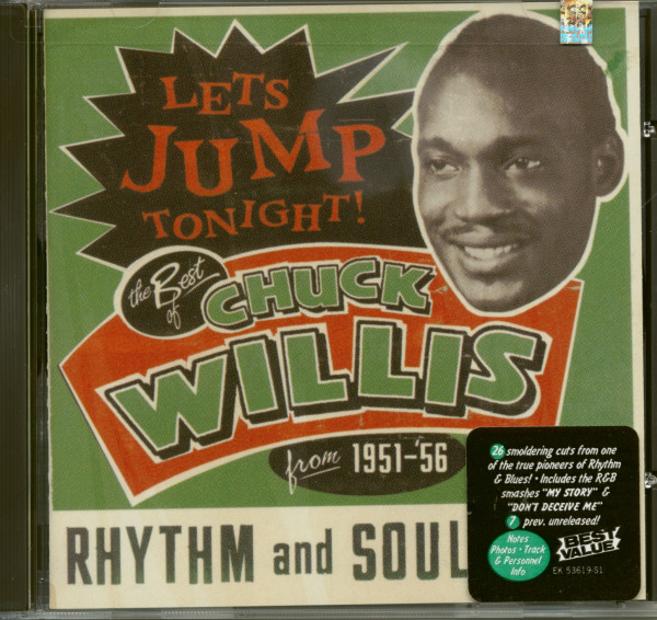 Let's Jump Tonight - The Best Of Chuck Willis from 1951-'56 (CD)