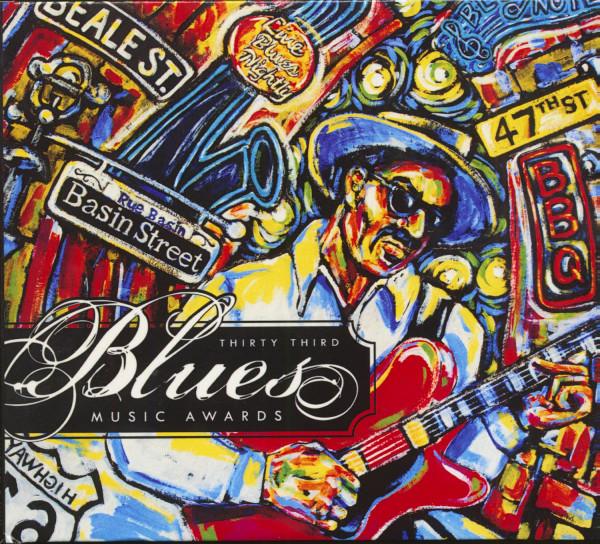 33rd Blues Music Awards, 2012 (CD & DVD)