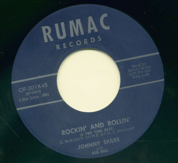 Rockin' And Rollin' - Hard Luck Blues (7inch, 45rpm)