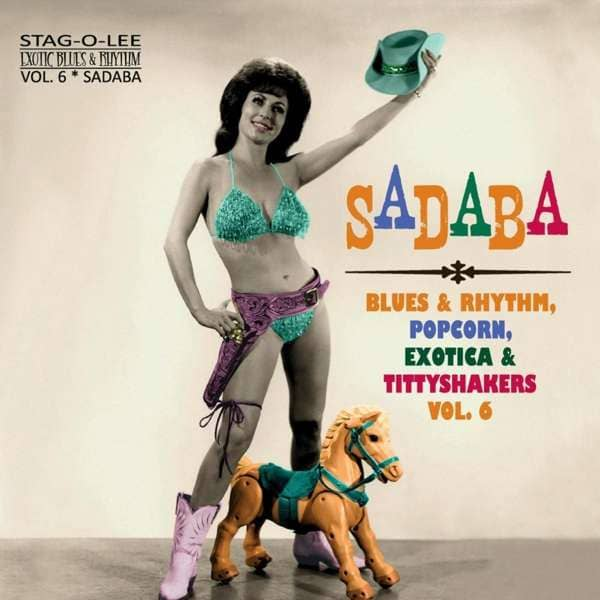 Sadaba (LP, 10inch, Clear Vinyl, Ltd.) - Exotic Blues & Rhythm Series Vol.6