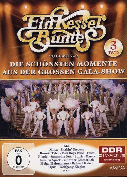 Ein Kessel Buntes Vol.7-9 - Die schönsten Momente aus der großen Gala-Show (3-DVD)