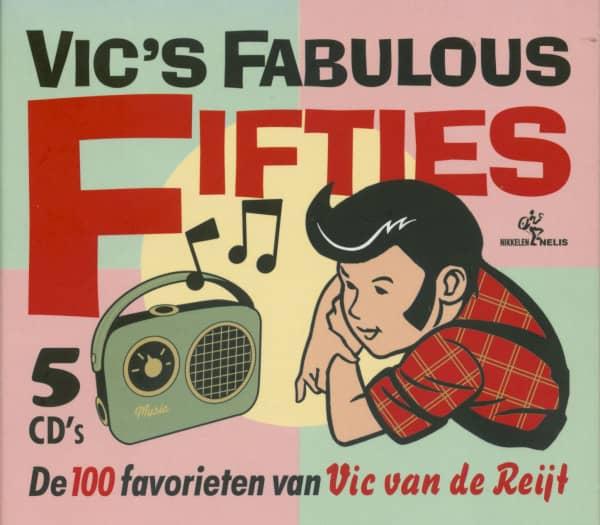 Vic Van De Reijt - Fabulous Fifties (5-CD)