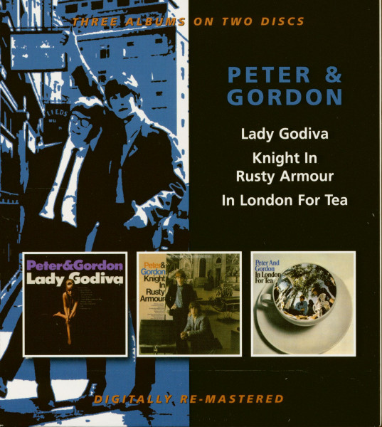 Lady Godiva - Knight In Rusty Armour - In London For Tea (2-CD)