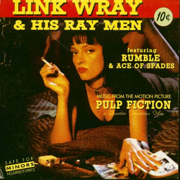 Link Wray & His Raymen - Music From The Motion Picture 'Pulp Fiction' (CD EP)