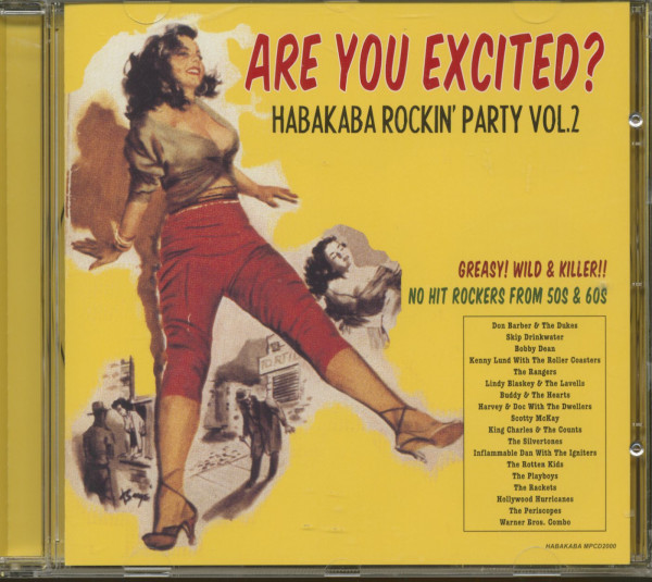 Are You Excited - Habakaba Rockin' Party, Vol.2 (CD)