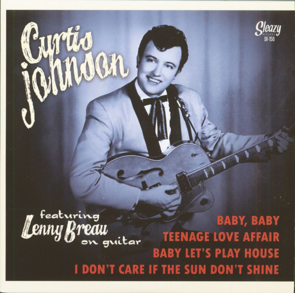 Curtis Johnson Featuring Lenny Breau On Guitar (7inch, EP, 45rpm, PS)