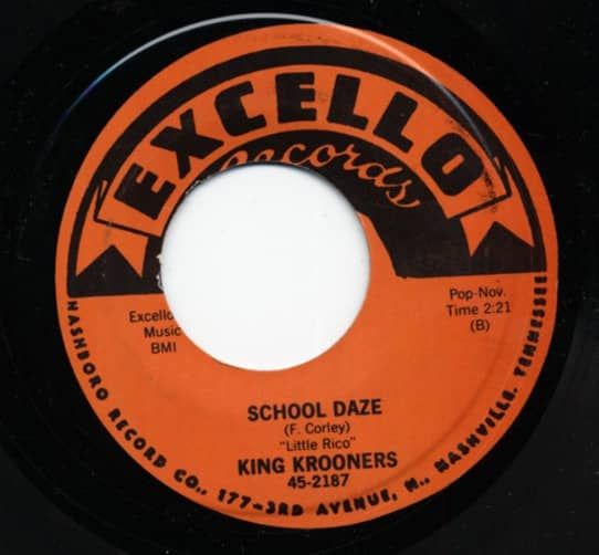School Daze b-w Memories 7inch, 45rpm