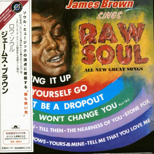 Sings Raw Soul (CD-Japan)