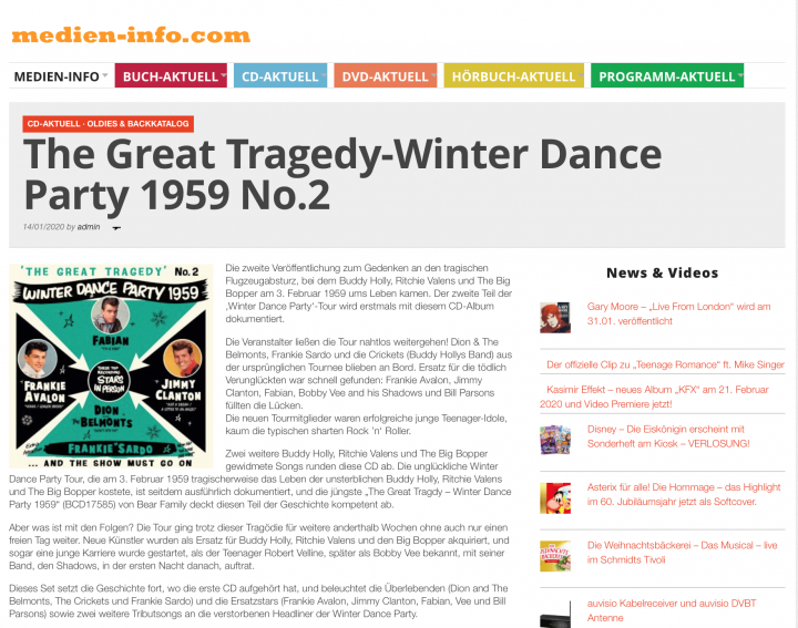 Presse-Archiv-The-Great-Tragedy-Winter-Dance-Party-1959-No-2-medien-info