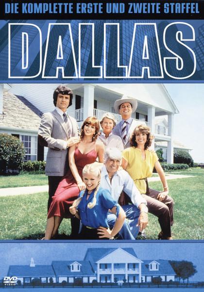 Dallas - Staffel 1&2 7-DVD (Code 2)