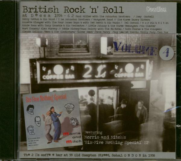 British Rock'n'Roll At Decca Vol.4 (CD)