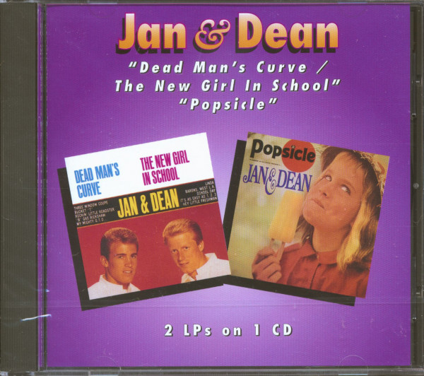 Dead Man's Curve-The New Girl In School - Popsicle (CD)