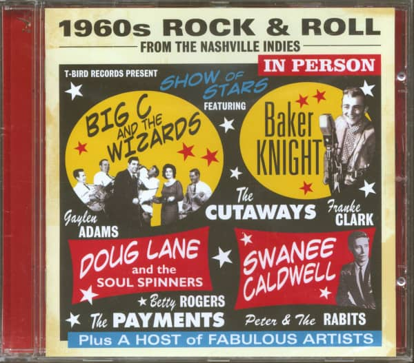 1960s Rock & Roll From The Nashville Indies (CD)