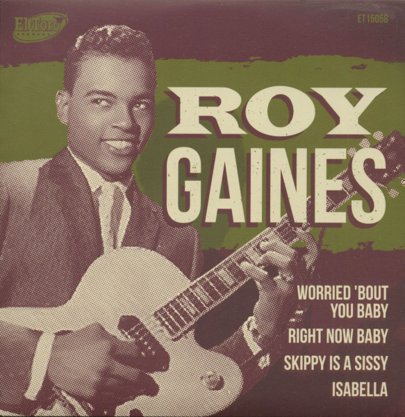 Roy Gaines (7inch, EP, 45rpm, PS)