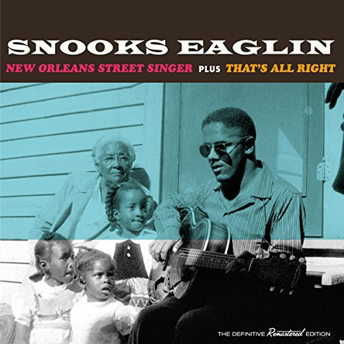 New Orleans Street Singer + That's All Right (CD)