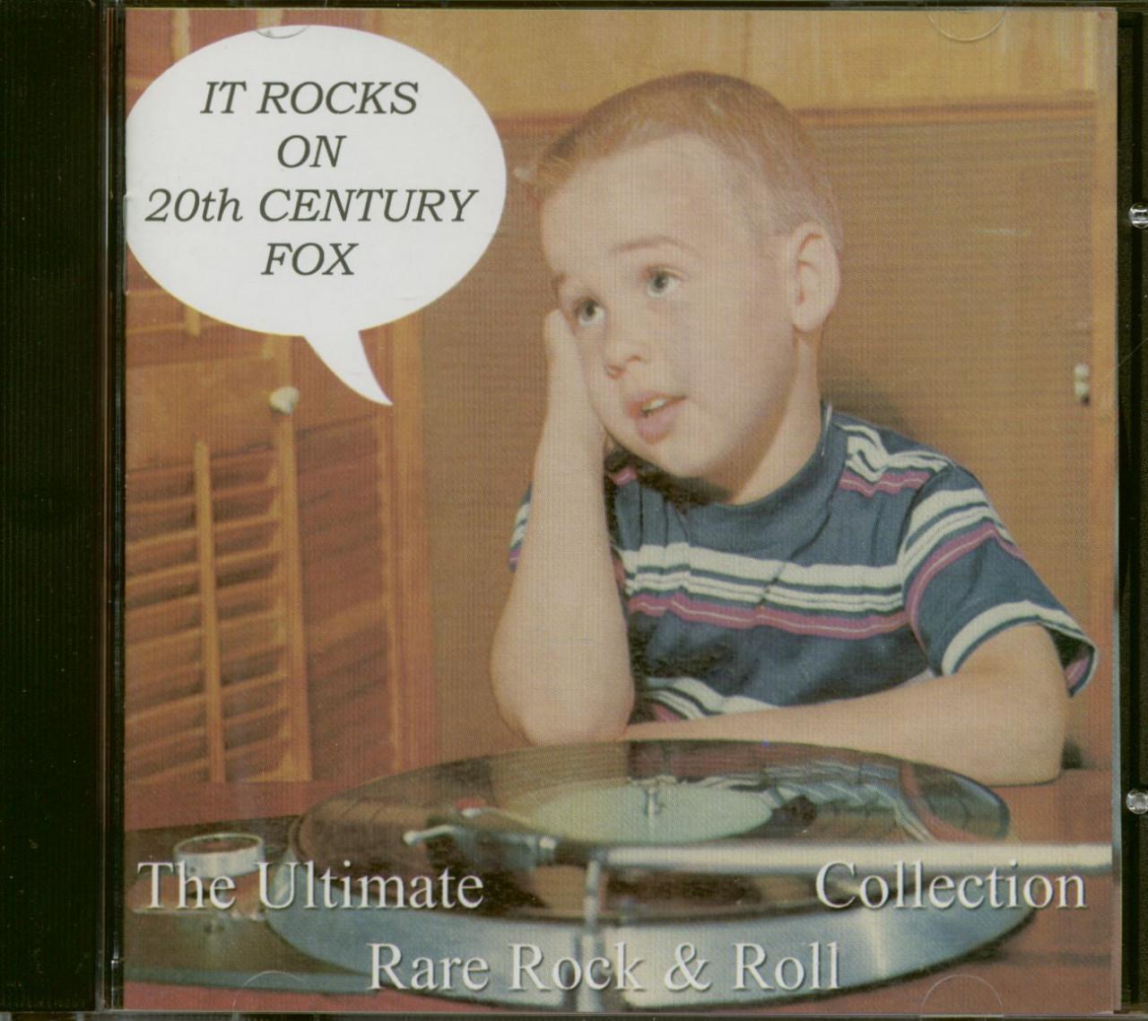 Various - It Rocks On 20th Century Fox (CD)