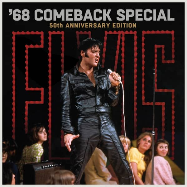 Elvis: '68 Comeback Special: 50th Anniversary Edition (5-CD / 2-Blu-Ray Video)