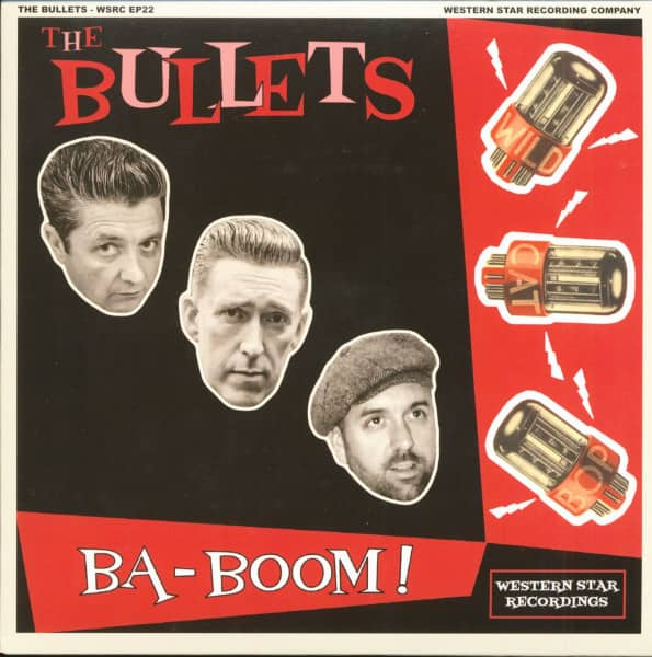 Ba-Boom! (7inch, EP, PS, Ltd.)