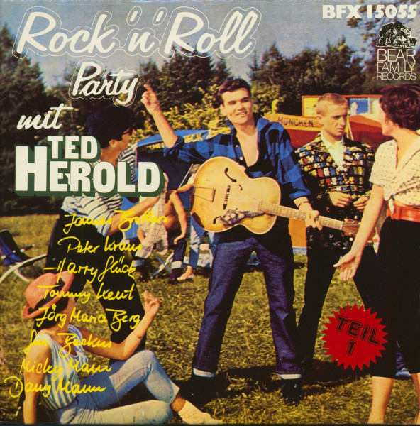 Rock'n'Roll Party mt Ted Herold und anderen - Teil 1 (LP)