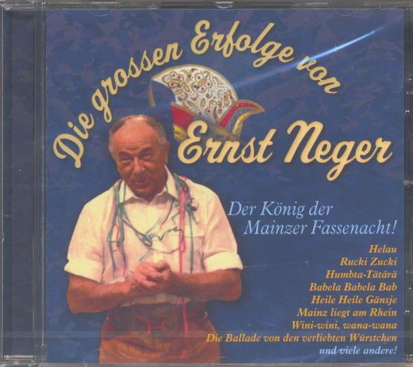 Die großen Erfolge von Ernst Neger (CD)