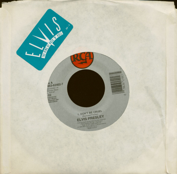 Don't Be Cruel - Ain't That Loving You Baby (Fast Version) (7inch, 45rpm)