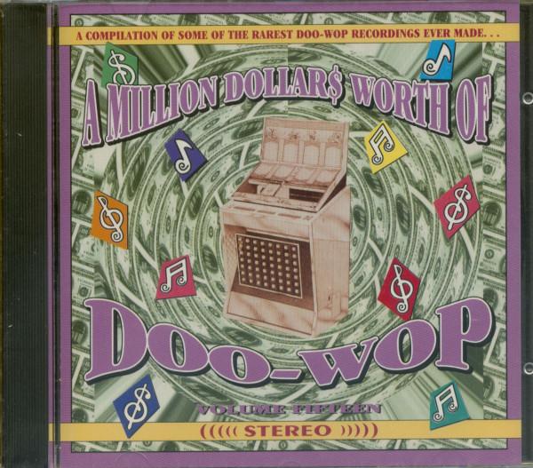 A Million Dollars Worth Of Doo-Wop Vol.15 (CD)