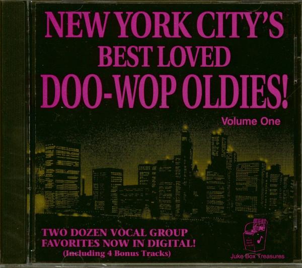 New York's Best Loved Doo Wops (CD)