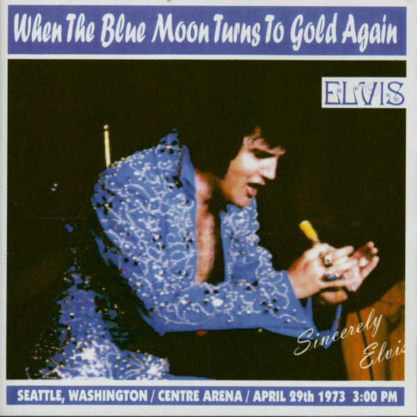 When My Blue Moon Turns To Gold Again (CD)