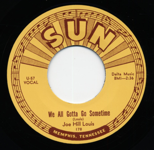 We All Gotta Go Sometime - She May Be Yours (7inch, 45rpm)