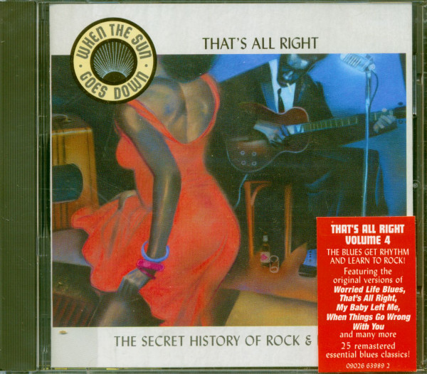 When The Sun Goes Down Vol.4 - That's All Right (CD)