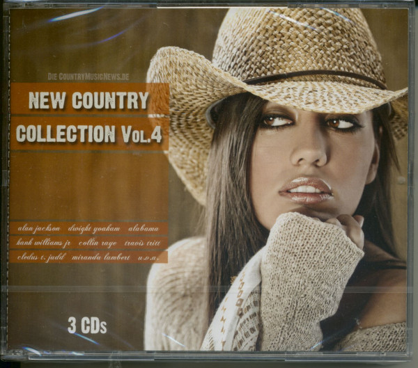Vol.4, New Country Collection (3-CD)
