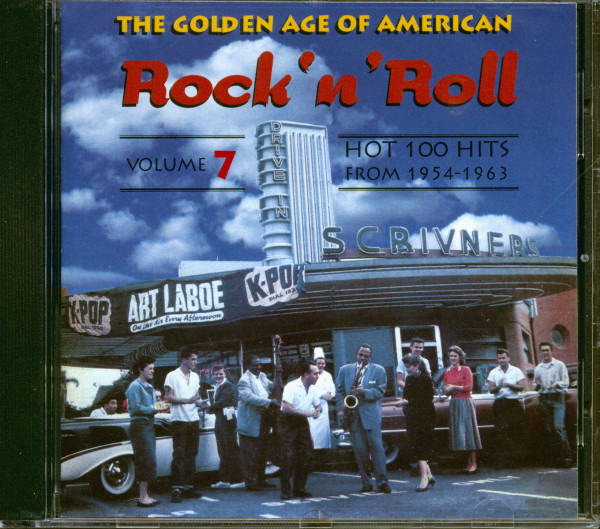 The Golden Age Of American Rock & Roll Vol.7 (CD)