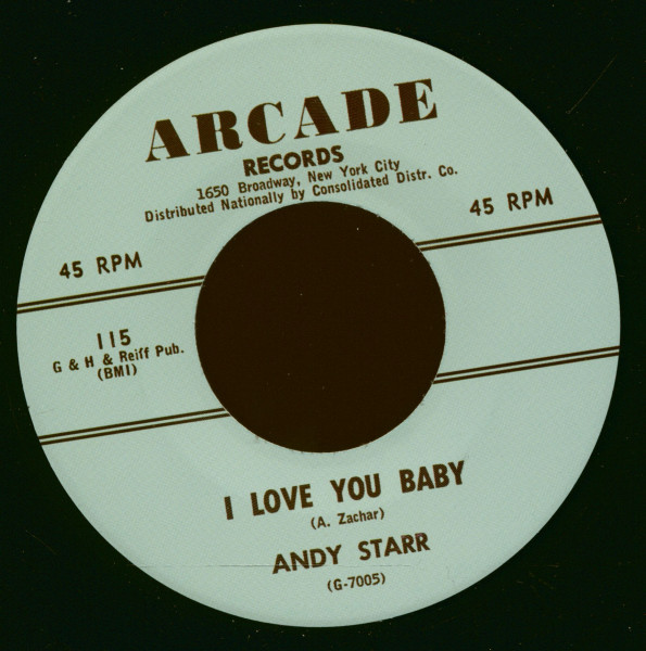 I Love You Baby - I Know It's True (7inch, 45rpm)