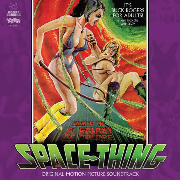 Space Thing - Motion Picture Soundtrack (LP & DVD)