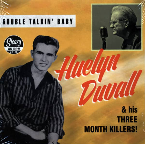 Double Talkin' Baby 7inch, 45rpm, PS, EP