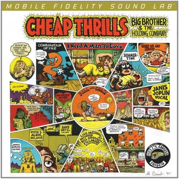 Cheap Thrills (2-LP, 180g Vinyl, Ltd.)