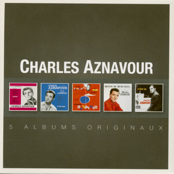 5 Albums Originaux (5-CD)