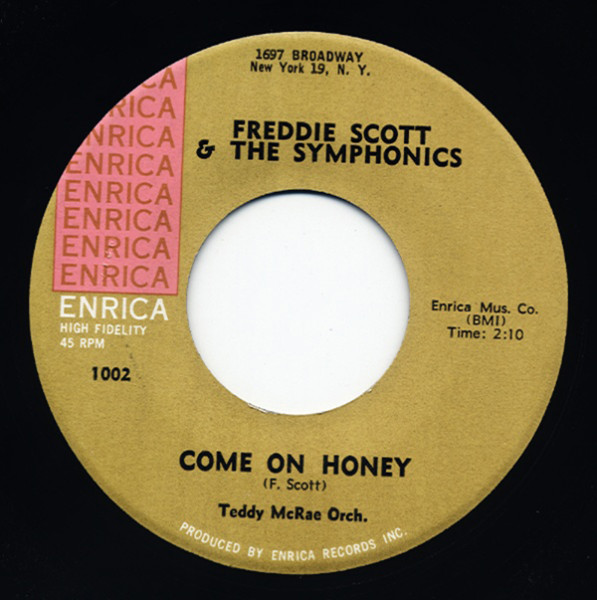 Come On Honey - A Blessing To You 7inch, 45rpm