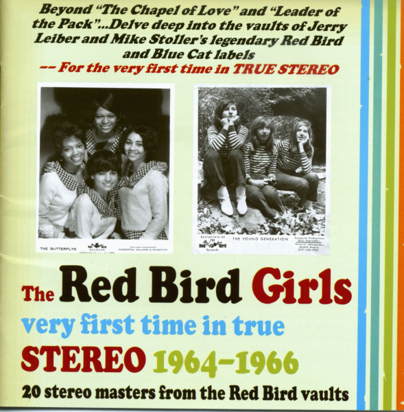 The Red Bird Girls - Stereo 1964-66 (CD)
