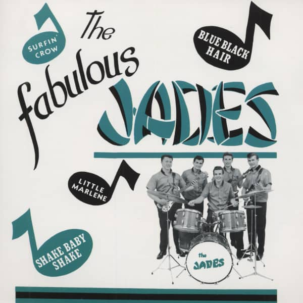 The Fabulous Jades (7inch EP, 45rpm, PS)