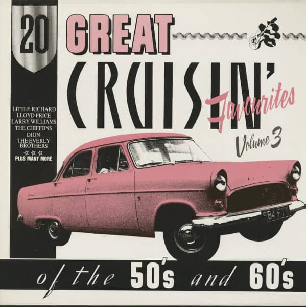 20 Great Cruisin' Favourites Of The 50's And 60's, Vol.3 (LP)