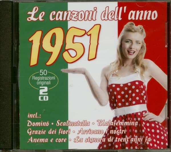 Le canzoni dell'anno 1951 (2-CD)