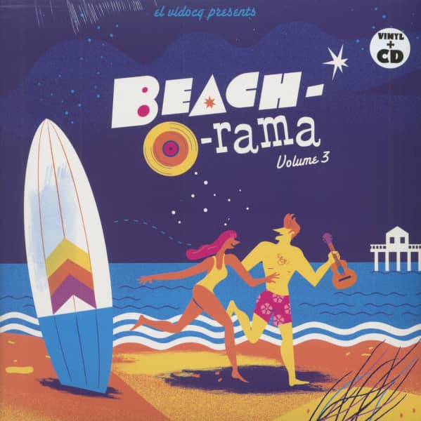 Beach-O-Rama Vol.3 (LP+CD)