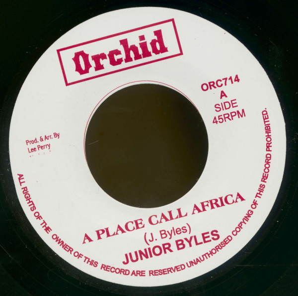 Junior Byles, A Place Call Africa - The Upsetters, A Place Call Africa (7inch, 45rpm, BC)