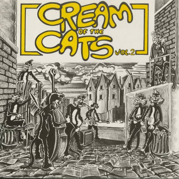 Cream Of The Cats - The Rarest Psychobilly, Vol.2 (LP)