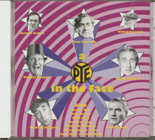 A Pye In The Face (CD)