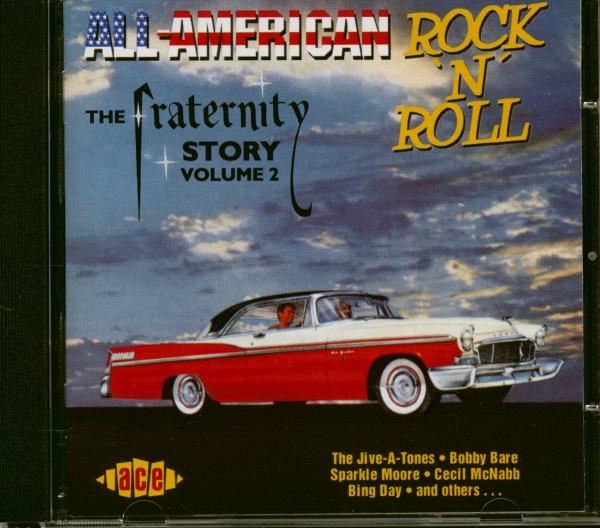 All American Rock'n'Roll - Fraternity Records Vol.2 (CD)