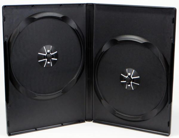 Doppel-DVD Leerhülle - schwarz